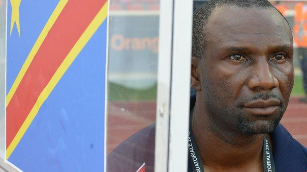 DR Congo coach Florent Ibenge