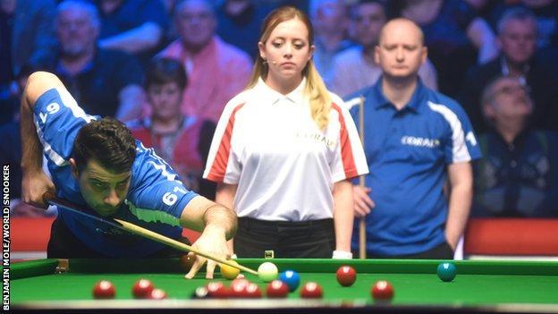 Snooker Shoot Out winner Michael Georgiou