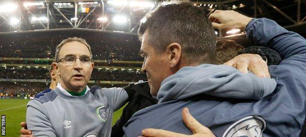 Martin O'Neill and Roy Keane have led the Republic of Ireland to Euro 2016