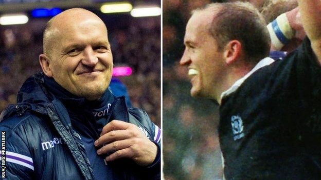 Gregor Townsend has won the Calcutta Cup as a coach and a player
