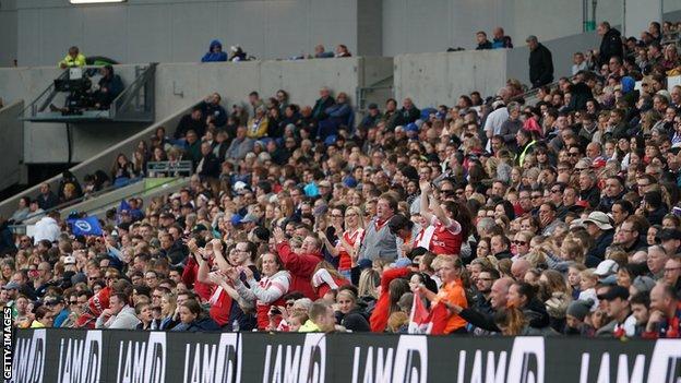 Women's Super League crowds