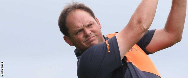 Jamie McLeary is two shots off the pace after an opening 67