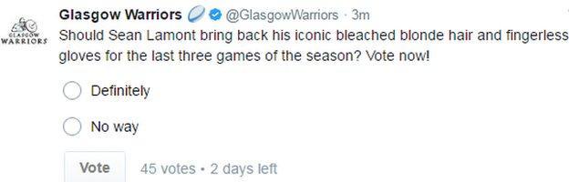 Glasgow Warriors on Twitter