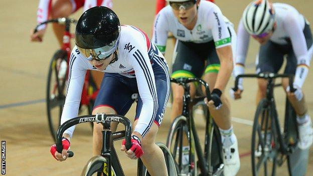 Laura Trott leads the way at the World Championships in February