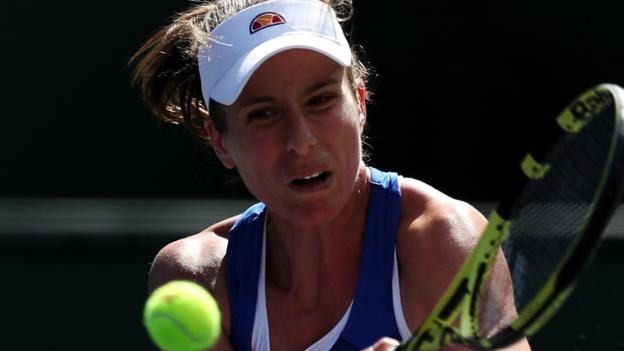 Indian Wells: Johanna Konta through to second round thumbnail