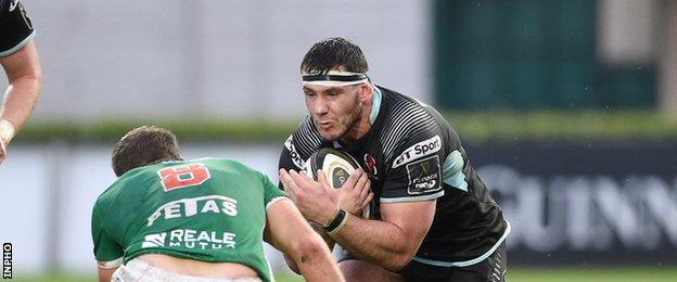 Ulster's Marcell Coetzee