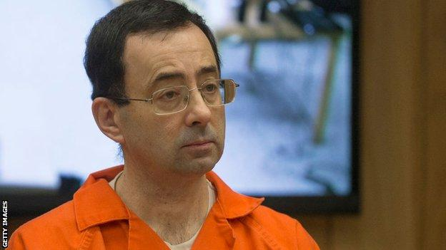 Larry Nassar was sentenced to up to 300 years in prison in 2018