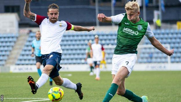 Hibs academy graduate Josh Doig looks to have played his last game for the club