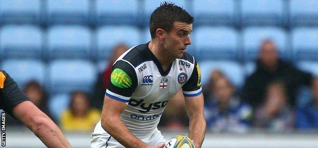 George Ford will compete with Rhys Priestland for the Bath fly-half position