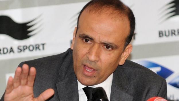 Tunisia Football Federation president Wadie Jary