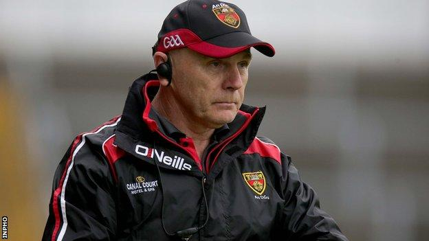 Jim McCorry has resigned as Down GAA manager after just one season in charge