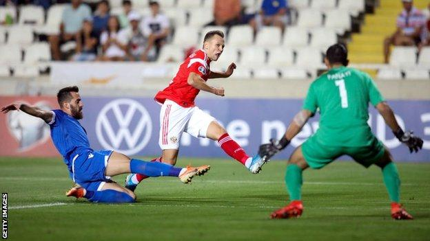 EC 2020 Qualification Report: Russia thrash Cyprus to qualify for Euro 2020
