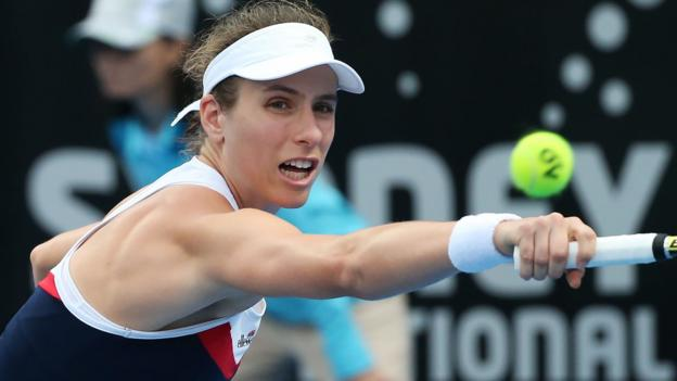 Johanna Konta withdraws from Sydney and Heather Watson loses in Hobart thumbnail