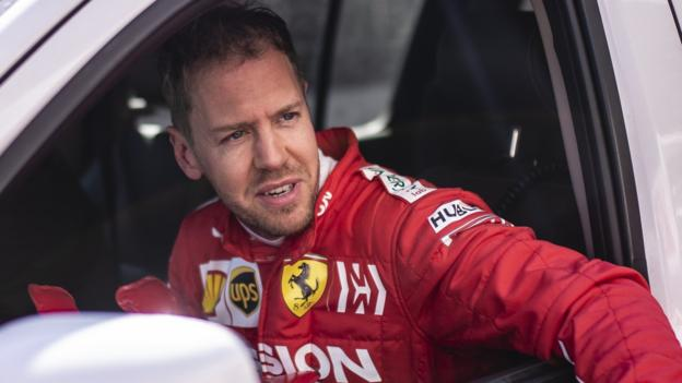 Sebastian Vettel crashes Ferrari on day two of Barcelona test thumbnail