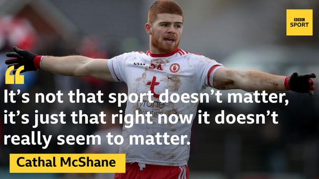 Cathal McShane sustained a bad ankle injury in Tyrone's heavy defeat by Kerry in February