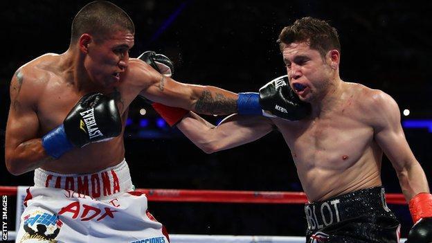 David Carmona fights Carlos Cuadras in New York in 2017