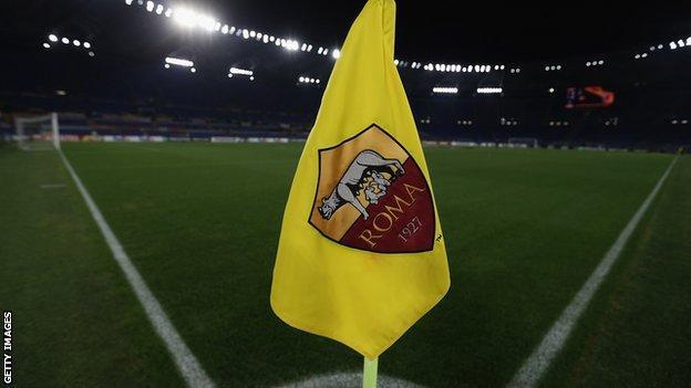 Roma club badge