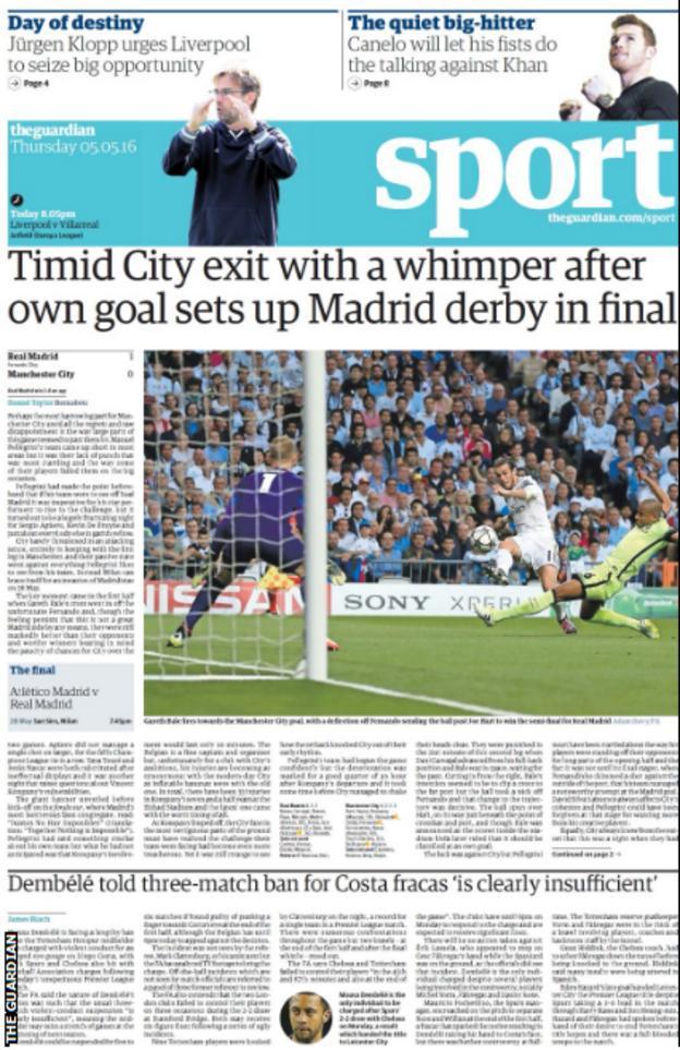 Thursday's Guardian