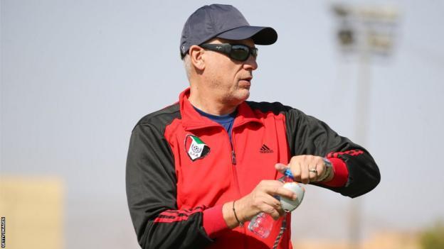 Sudan's French coach Hubert Velud