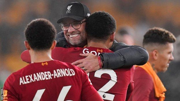 Liverpool hold a 25-point lead at the top of the Premier League