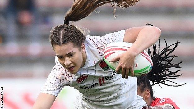 Holly Aitchison scores for England