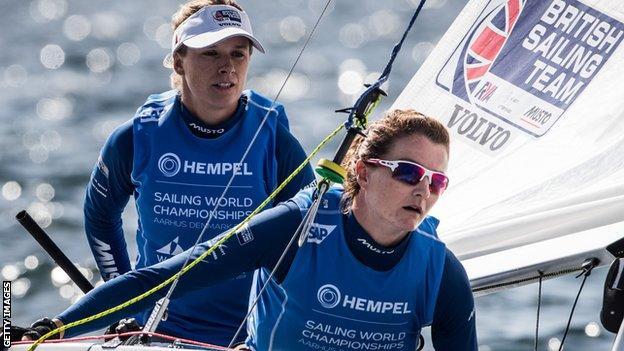 Hannah Mills and Eilidh McIntyre