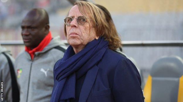 French coach Claude LeRoy