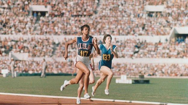 Wilma Rudolph at the 1960 Olympic Games