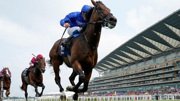 William Buick rode Adayar to victory in the King George at Ascot in July