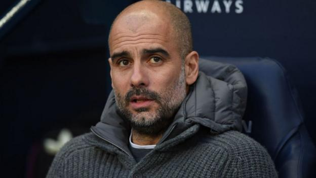 Pep Guardiola: Manchester City are 'teenagers' in Champions League thumbnail