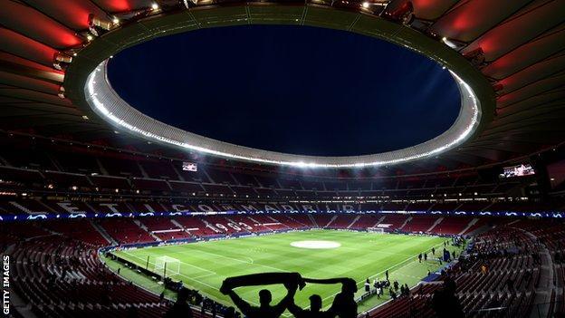 The Estadio Metropolitano is the home of Atletico Madrid