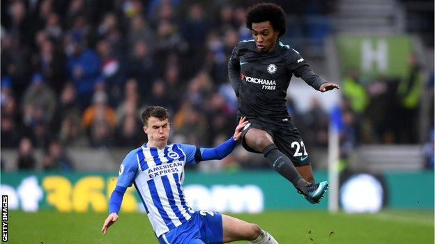 Man of the match was Willian