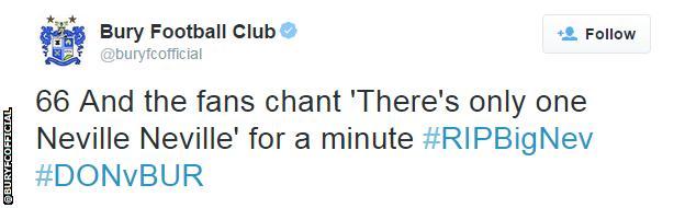 Neville Neville tweet