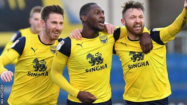 Oxford United players