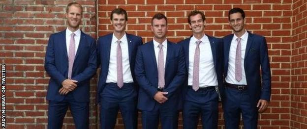 GB's Davis Cup team