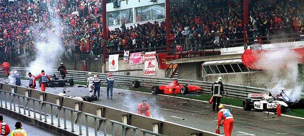Spa crash 1998