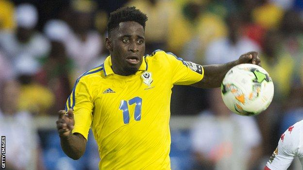 Gabon's Andre Biyogo Poko