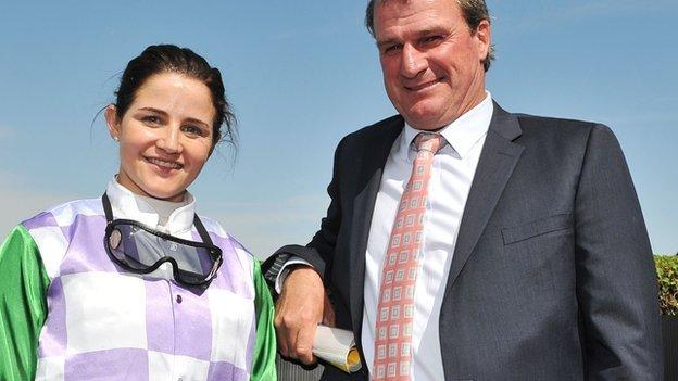 Australian jockey Michelle Payne has made history becoming the first female jockey to win the country's most prestigious horse race, the Melbourne Cup.