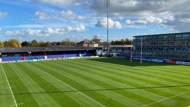 Wakefield Trinity's stadium Belle Vue