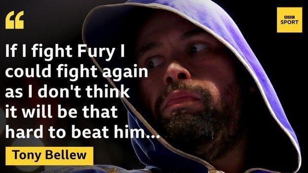 Tony Bellew quote