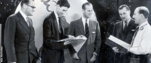 With Prince Philip