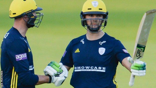 Hampshire batsman Rilee Rossouw