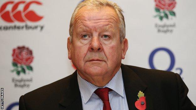 RFU chairman Bill Beaumont