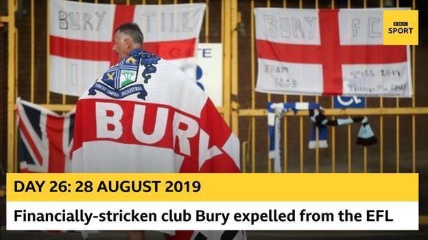 Bury expelled graphic