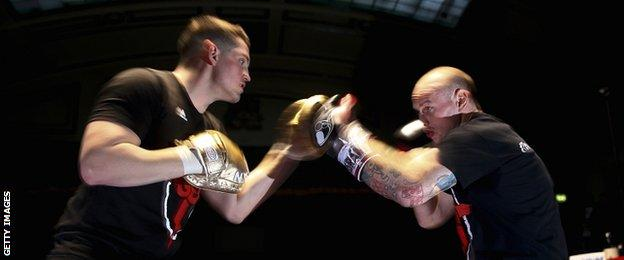 Shane McGuigan and George Groves