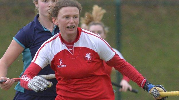Alex Speers scored a double for Pegasus against Belfast Harlequins
