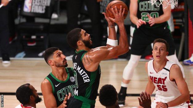 sports Jayson Tatum of the Boston Celtics