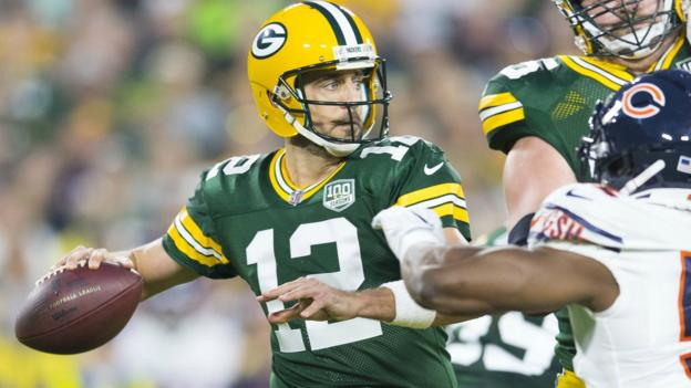 Gbpaaronrodgers Reu Aaron Rodgers Leads Epic Packers