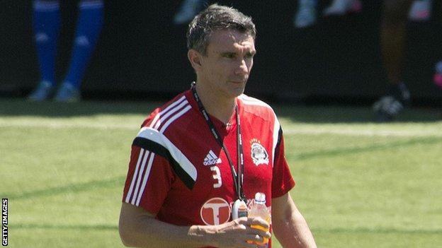 French coach Patrice Carteron