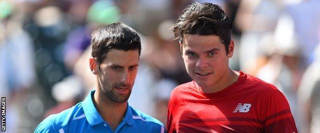 Novak Djokovic & Tomas Raonic